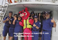 Mascot with crew resized